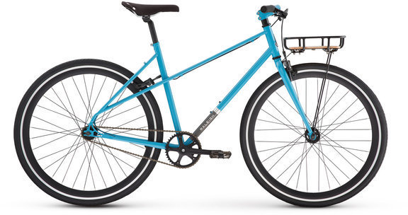Raleigh Carlton Mixte Color: Blue