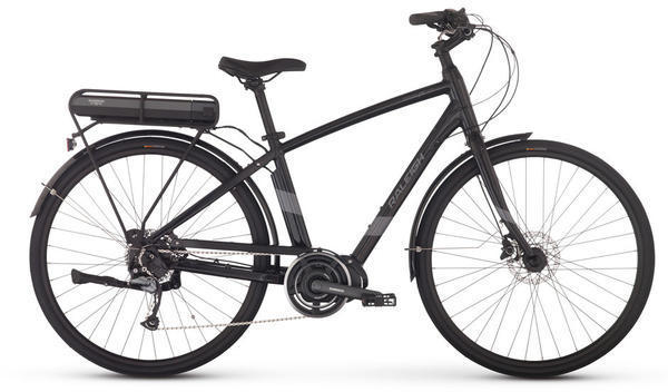 Raleigh Electric Detour iE Diamond Frame Color: Black