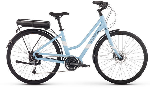 Raleigh Electric Detour iE Step-Through Color: Blue