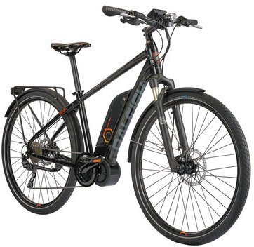 Raleigh Electric Cadent iE Step Over Color: Black