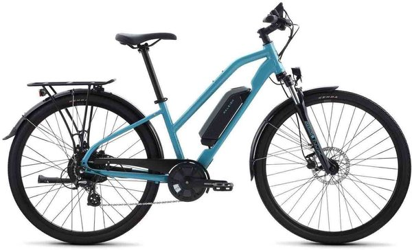 Raleigh Electric Misceo iE Step-Thru Color: Blue