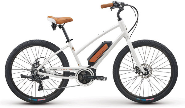 Raleigh Electric Retroglide 2.0 iE Step Thru Color: Frosty White