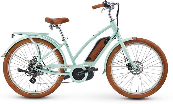 Raleigh Electric Retroglide iE Step Thru Color: Aqua