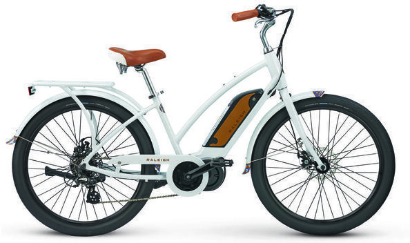 Raleigh Electric Retroglide iE Step Thru Color: Grey