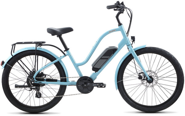 Raleigh Electric Special iE Step Thru Color: Blue