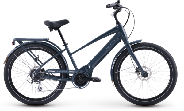 Raleigh Electric Step Thru Retroglide Royale IE Color: Iron Grey