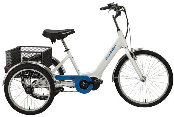 Raleigh Electric Tristar iE E-Trike Color: White