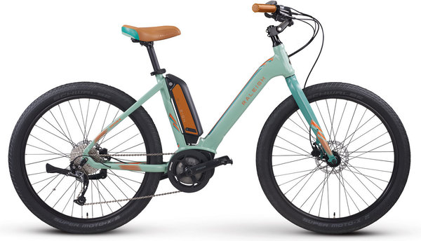 Raleigh Electric Venture iE Step Thru Color: Green