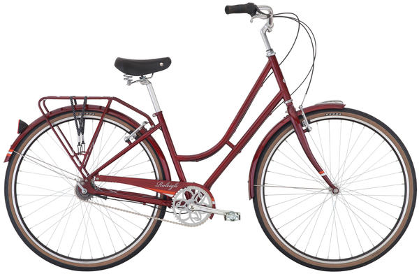 Raleigh Prim Color: Burgundy