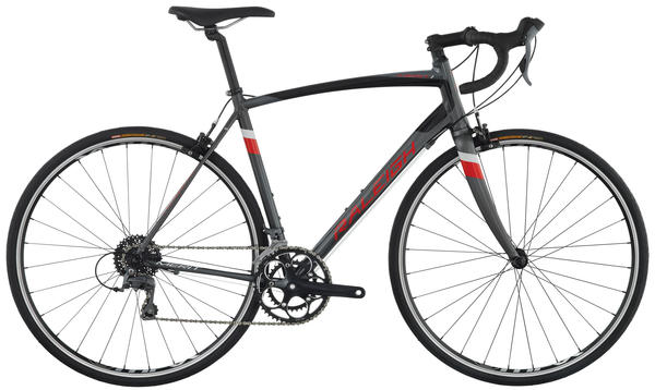 Raleigh Merit 1 Color: Silver/Red
