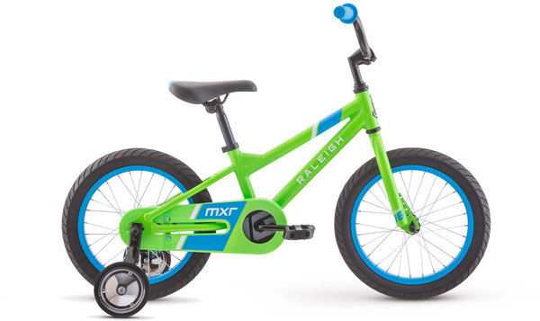 Raleigh MXR 16 Color: Green