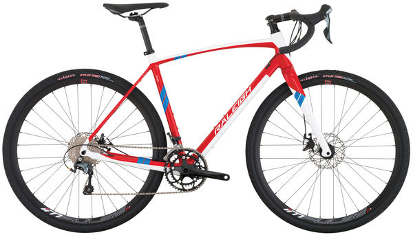 Raleigh Roker Sport Color: Red/White
