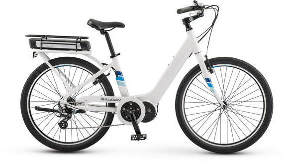 Raleigh Electric Sprite iE Step Thru Color: White