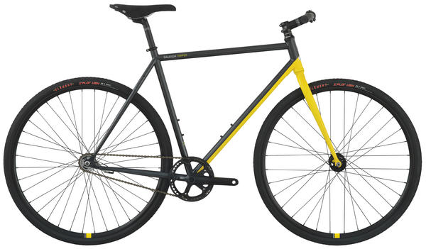 Raleigh Tripper Color: Dark Silver/Yellow