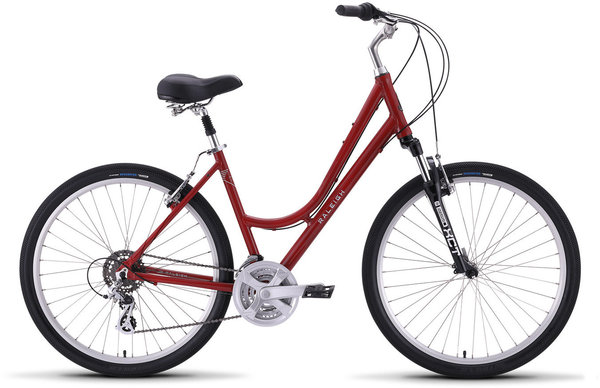 Raleigh Venture 2 Step Thru Color: Red