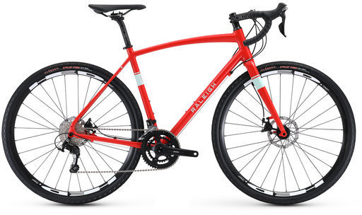 Raleigh Willard 4 Color: Red