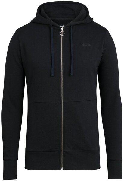Rapha Logo Hoodie Color: Black/White