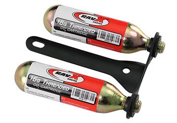 Rav X CO2 Bracket (w/2 CO2 Cartridges)
