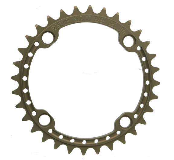 Renthal SR4 Chainring Color | Model | Size: anodized | 4x104mm | 32t