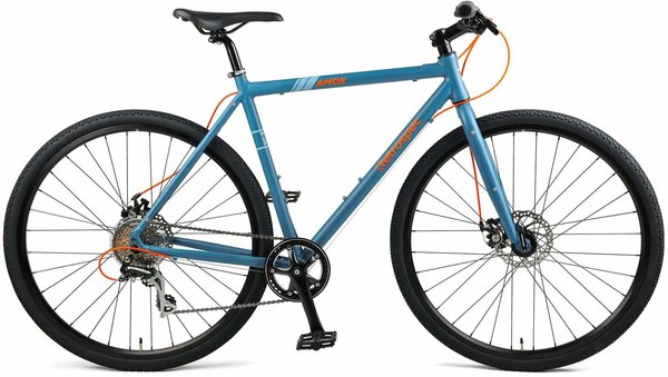 Retrospec Amok V3 UrbanGravel Color: Matte Speed Atlantic Blue