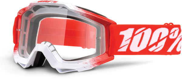 100% Accuri Goggles Color | Lens: AAA | Clear