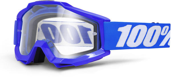 100% Accuri OTG Goggles Color | Lens: Reflex Blue | Clear