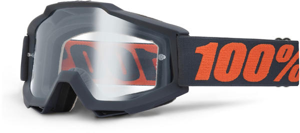 100% Accuri OTG Goggles Color | Lens: Gunmetal | Clear