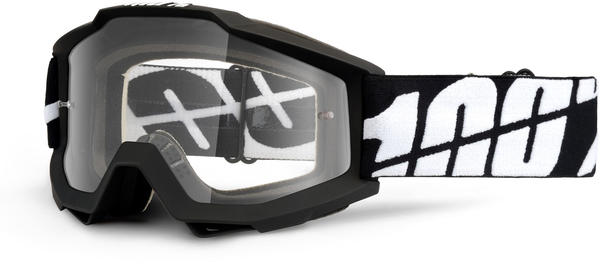 100% Accuri OTG Goggles Color | Lens: Black Tornado | Clear