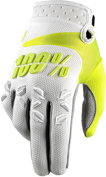 100% Airmatic Gloves Color: White