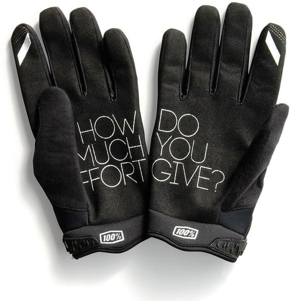 100% Brisker Gloves Color: Black