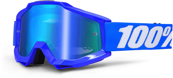 100% Accuri Goggles Color | Lens: Reflex Blue | Mirror Blue|Clear