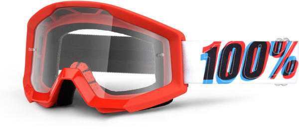 100% Strata Goggles Color | Lens: 3D | Clear