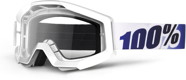 100% Strata Goggles Color | Lens: Ice Age | Clear