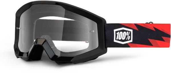 100% Strata Goggles Color | Lens: Slash | Clear
