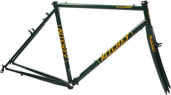 Ritchey CX Pro Break-Away CrMo Frameset Color: Green