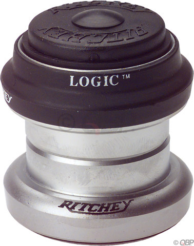 Ritchey Logic Threadless Headset Color | Size: Silver | 1-inch