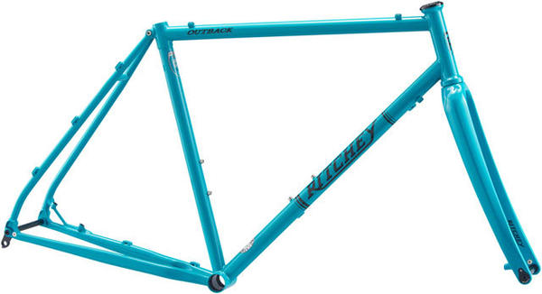Ritchey Outback CrMo Frameset Color: Aquamarine