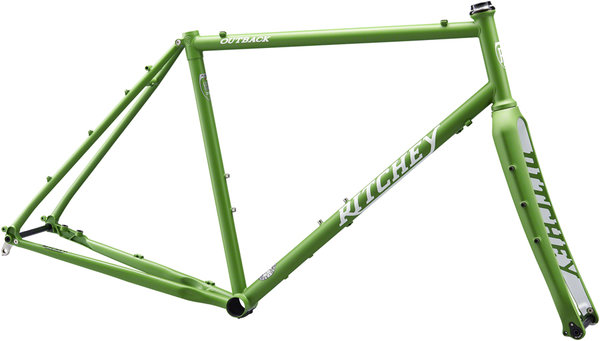 Ritchey Outback Frameset Color: Matte Green