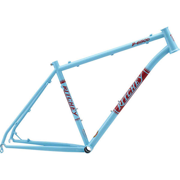 Ritchey P-650B Frame Color: Light Blue