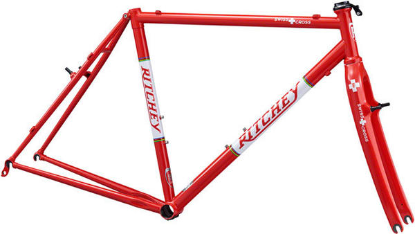 Ritchey SwissCross Canti Frameset Color: Red
