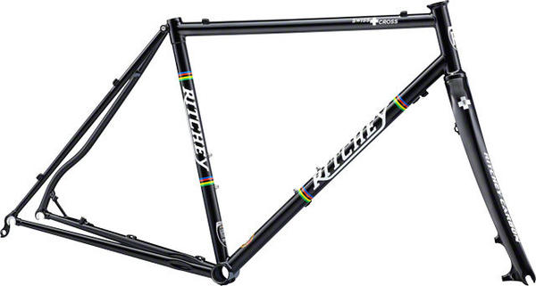 Ritchey SwissCross Disc CrMo Frameset Color: Black