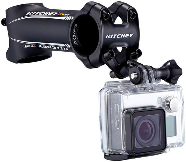 Ritchey Universal Stem Face Plate Accessory Mount: GoPro Camera and stem sold separately