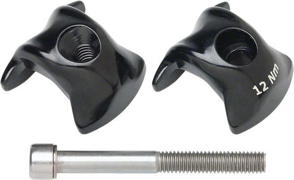 Ritchey WCS Alloy 1-Bolt Seatpost Clamp 7 x 7mm Rails Color: Black
