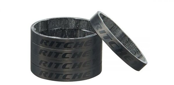 Ritchey Matte Carbon Headset Spacers 1-1/8-inch 5mm