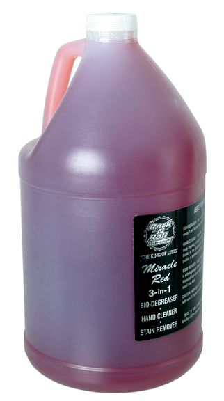 Rock-N-Roll Miracle Red Bio-Cleaner/Degreaser Size: 128oz (1 gallon)