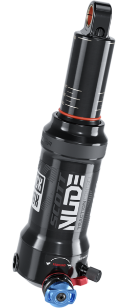 RockShox Deluxe Nude Rear Shock Color: Black