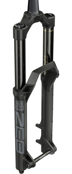 RockShox ZEB Select Color: Diffusion Black