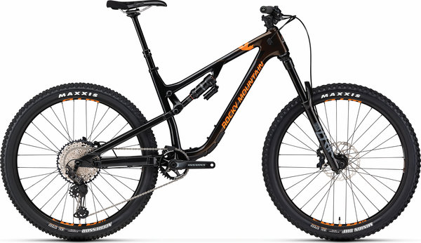 Rocky Mountain Altitude Carbon 50 Color: Black/Brown