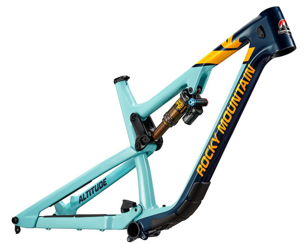 Rocky Mountain Altitude Carbon Frameset Color: Blue