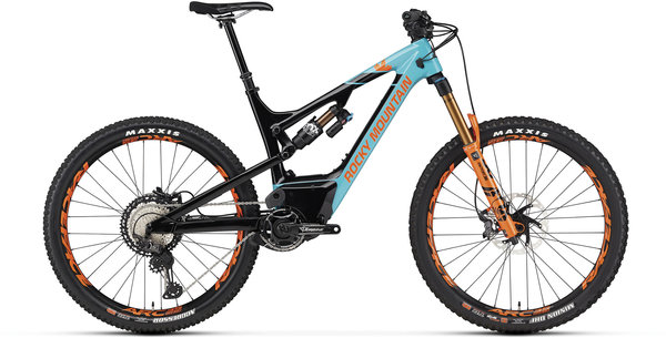 Rocky Mountain Altitude Powerplay Carbon 90 Rally Edition Color: Black/Light Blue